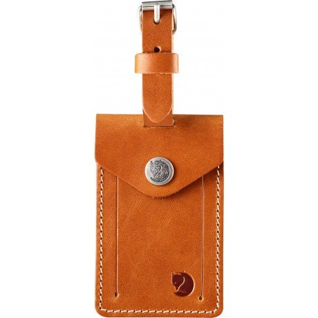 Бирка Leather Luggage Tag